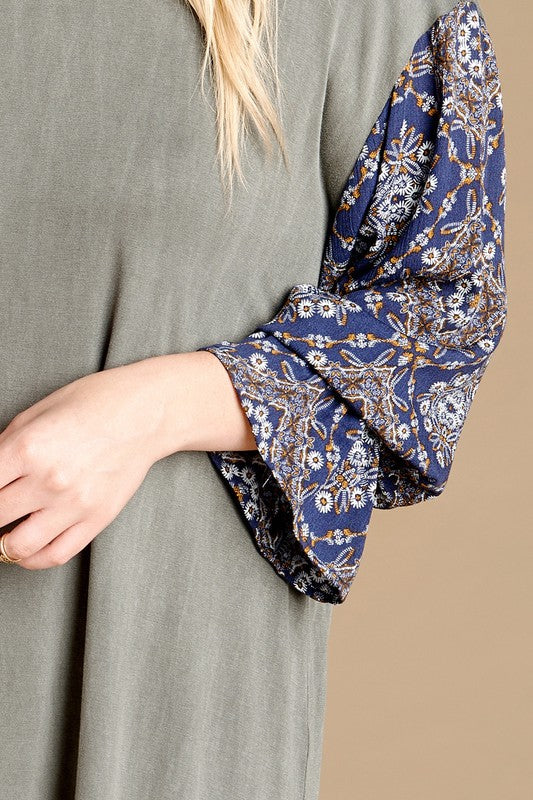 Floral Patch Plus Top