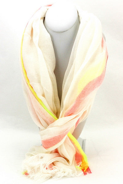 Neon Stripes Scarf