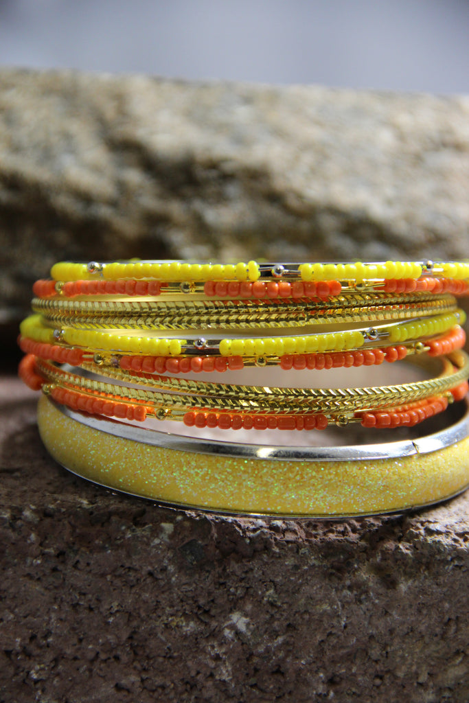 Summer Breeze Bangles (2 colors available)