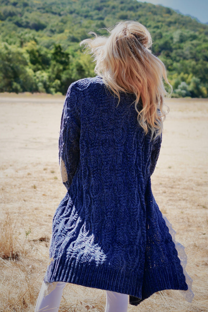Summer Blues Sweater