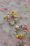 Rainbow Wreath Earrings
