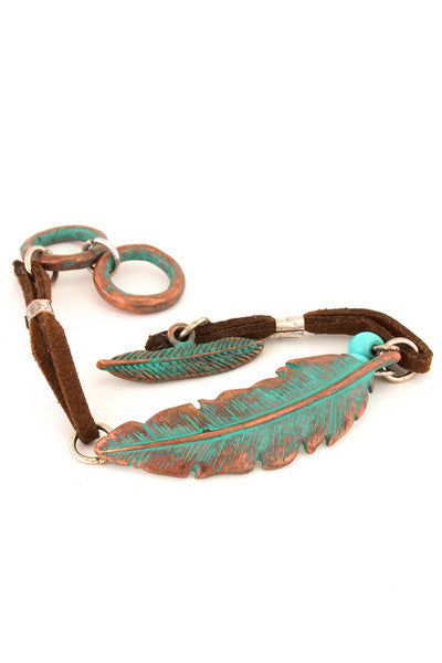 Pattina Leaf Bracelet