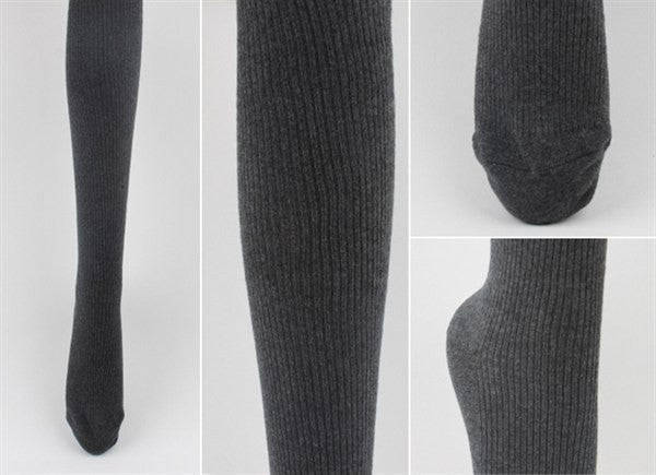 Ribbed Tights (2 colors available)