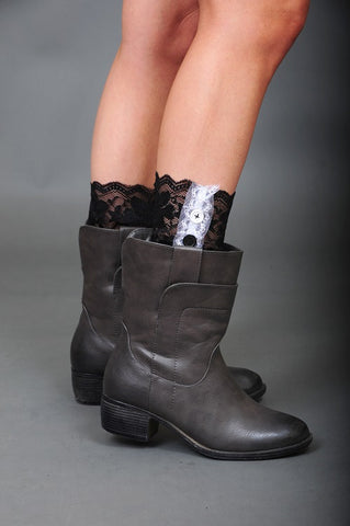 Little Bit of Lace Boot Cuffs