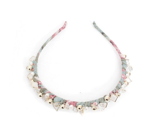 Floral Charms Headband