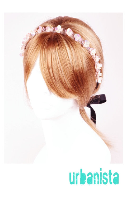 Flower Ribbon Headband