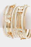 Bow Bangle Thirteen Pieces