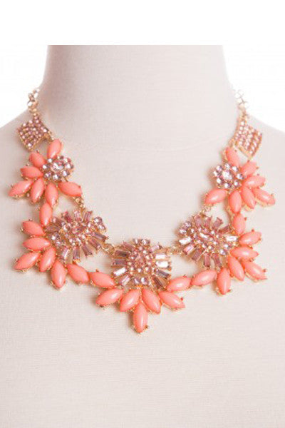 Coral Royal Bliss Necklace