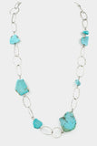 Talia Long Turquoise Necklace