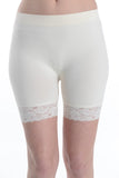 Lace Hem Seamless Shorts (Pack of 3)