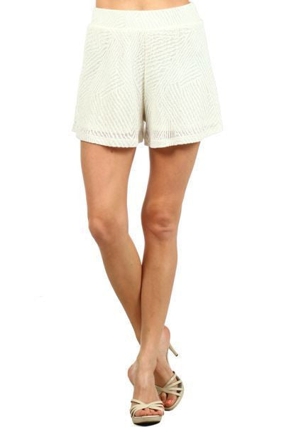 Terry Cloth Tribal Shorts