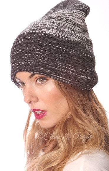 Heather Slouchy Beanie