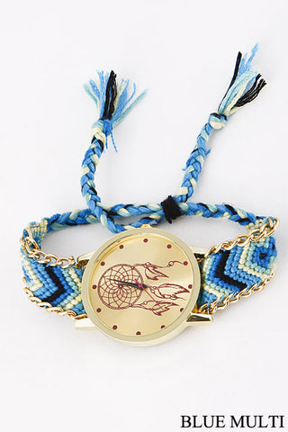 Blue Dreamcatcher Watch