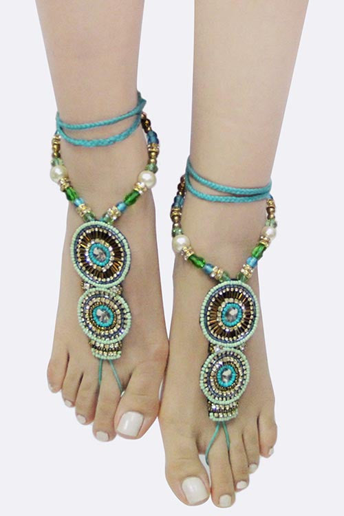 Boho Barefoot Jewelry (3 colors available)