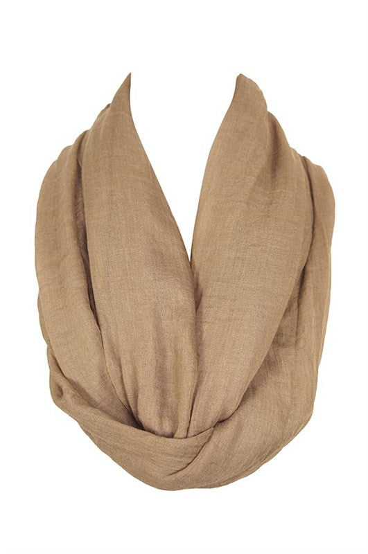 Super Soft Infinity Scarf (5 Colors Available)