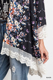 Spotted Flowers Kimono