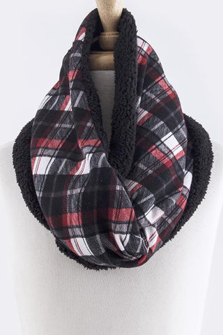 Plaid Cozy Scarf