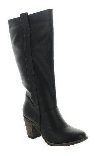 Jacky Heel Boots (2 colors)