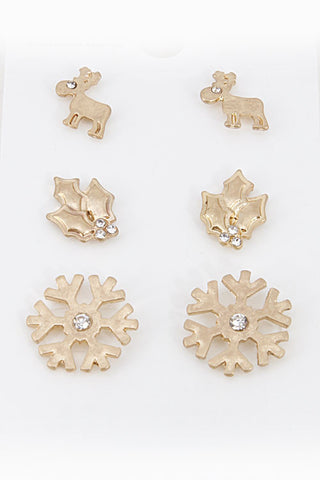 Holiday Earring Set (2 Colors Available)