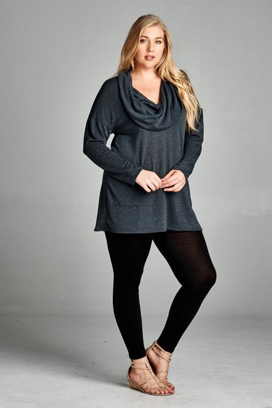 Come As You Are Cowl Tunic (All Sizes)