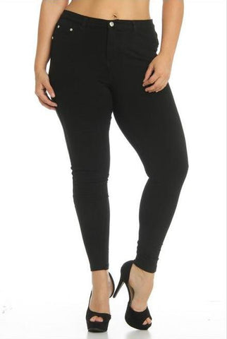 Plus Jeggings (Colors Available)