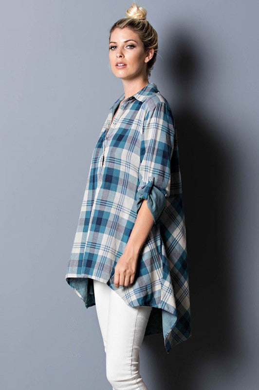 Workday Flannel Shirt