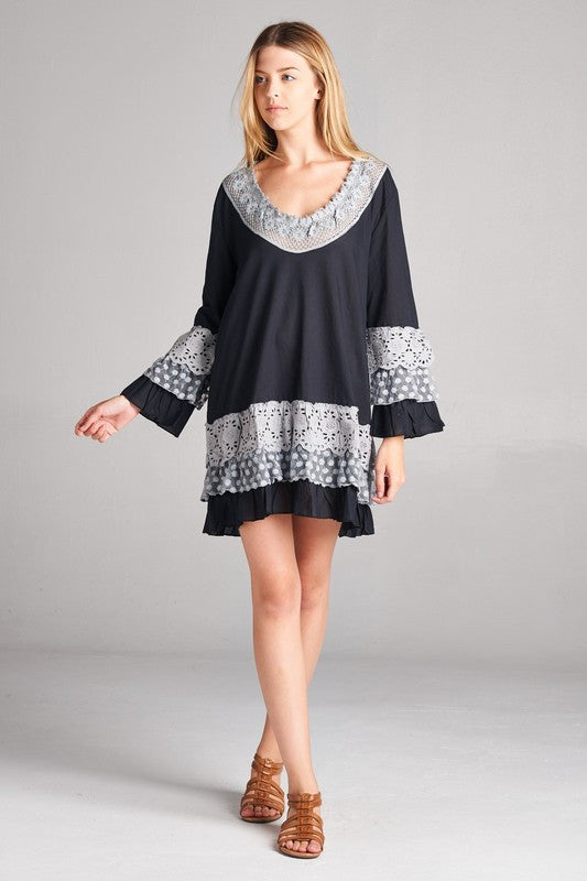 Malia Tunic Top/Dress (All Sizes)