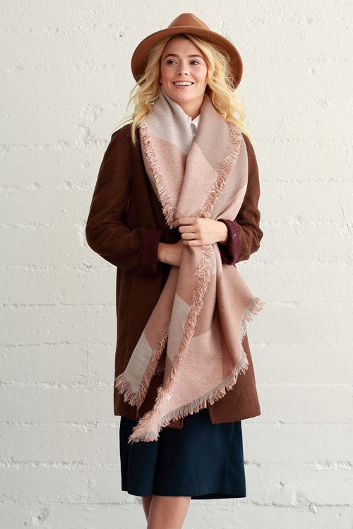 So Divine Diamond Blanket Scarf (2 Colors)