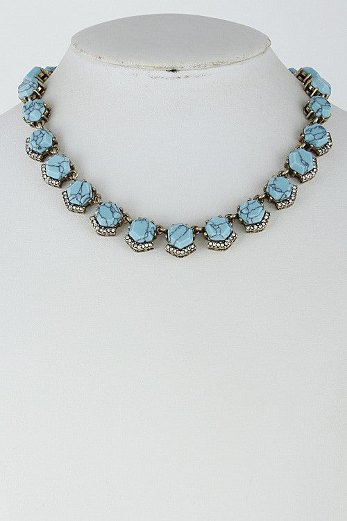 Forbidden Love Turquoise Necklace