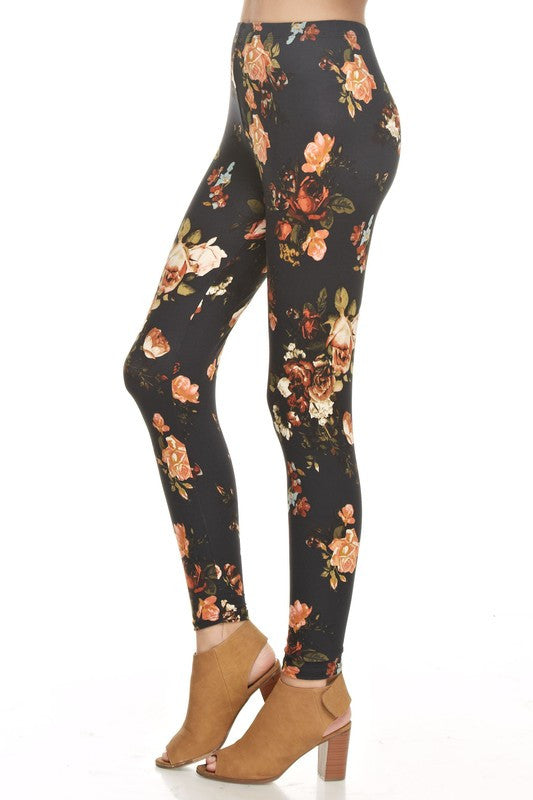 Lost In Floral Leggings