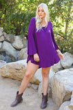 Back Beauty Tunic Top/Dress (All Sizes)