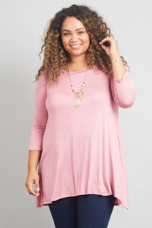 Must Have Everyday Plus Top (Many Colors)