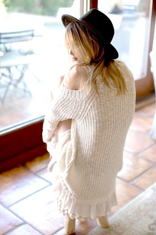 In The Shadows Sweater Top