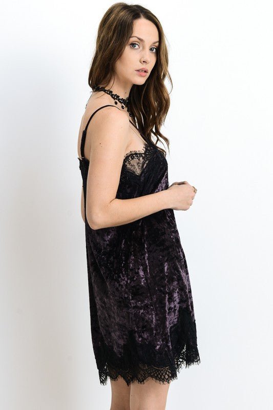 Purple Rain Slip Dress