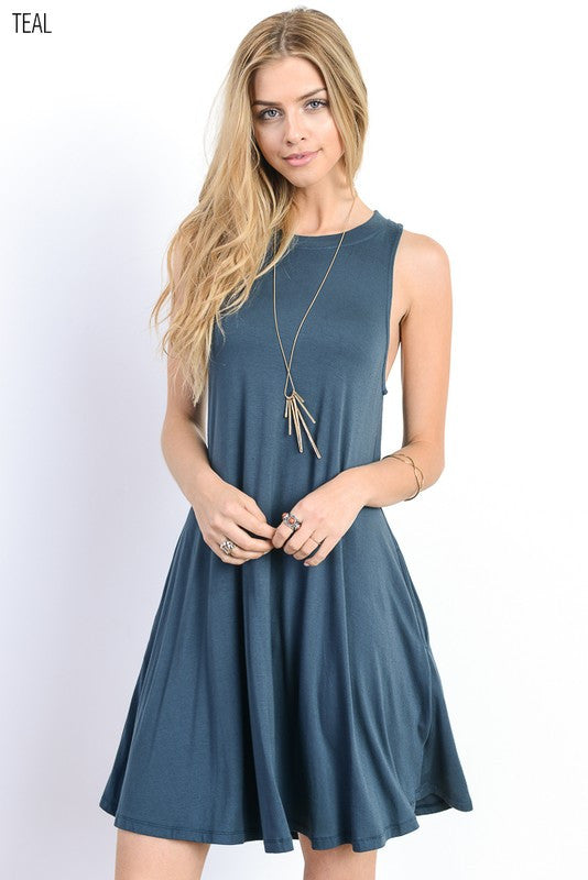 Swing It Dress (Colors available)
