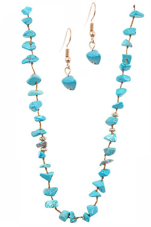 Love The Sea Necklace Set