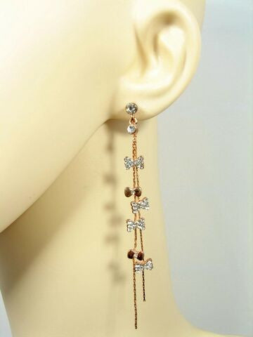 Bow Charm Earrings