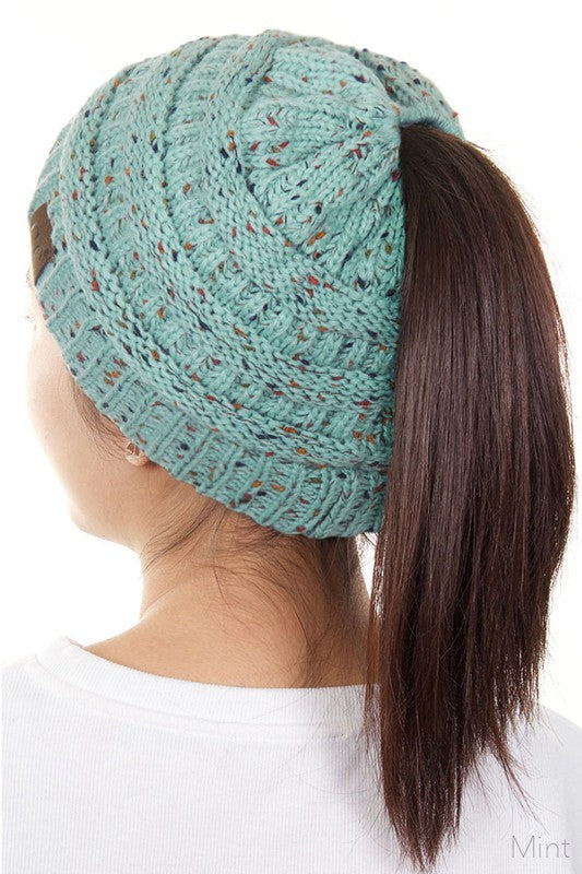 Ponytail Beanie (colors available)