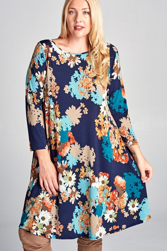 Perfect Swing Dress Plus