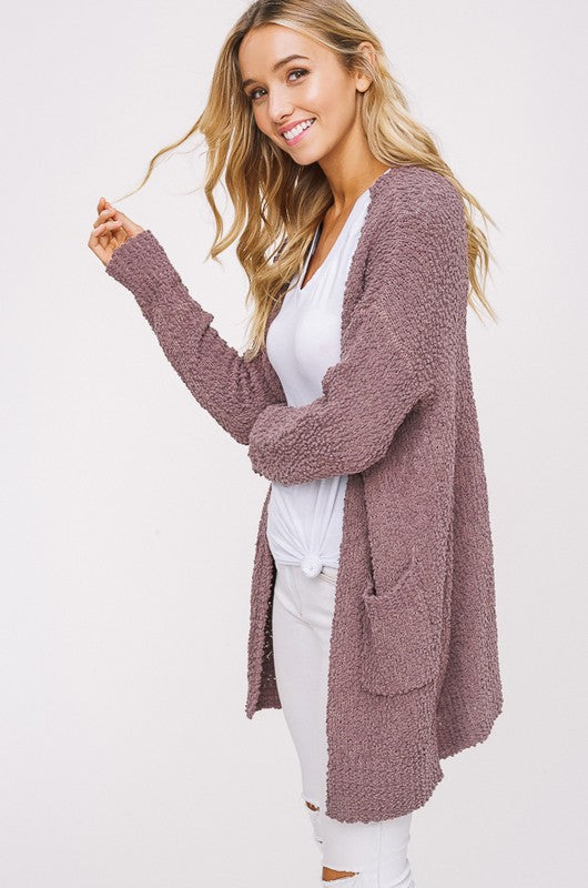 Popcorn Cardigan (2 Colors Available)