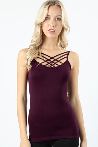 Criss Cross Cami (All Sizes)