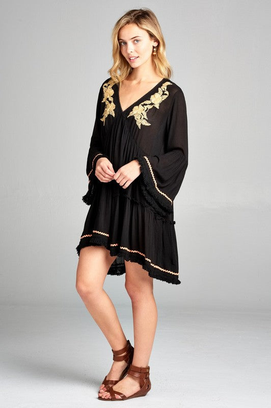 Golden Goddess Tunic / Dress PLUS