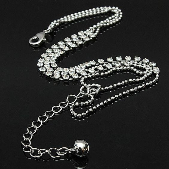 Crystals Chain Anklet