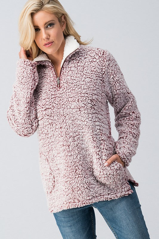 Soft N Fuzzy Warm Pullover (Colors Available)