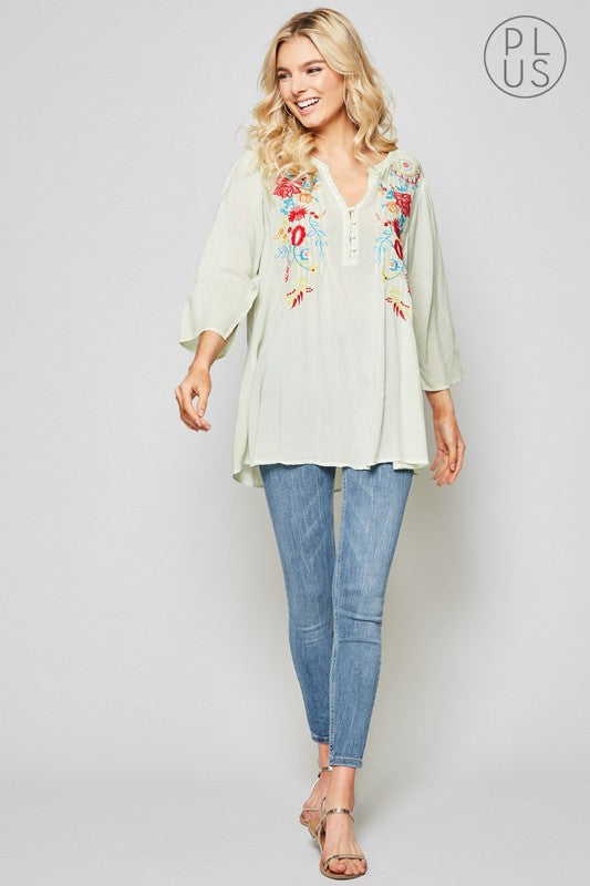 Willow Plus Blouse