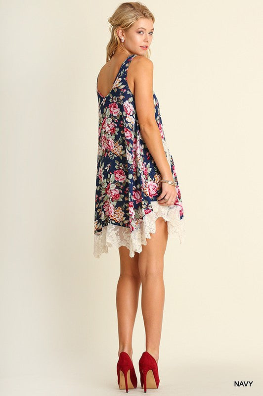 Magdalena Floral Lace Dress