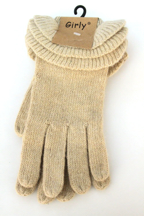 Ruffle Gloves