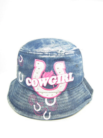 Cowgirl Denim Hat