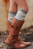 Herringbone Leg Warmer