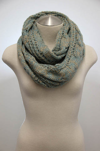 Cozy Cable Knit Scarf